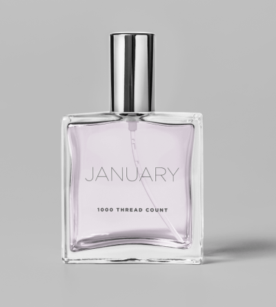Something about the scent of January