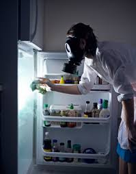 Something about cleaning the fridge