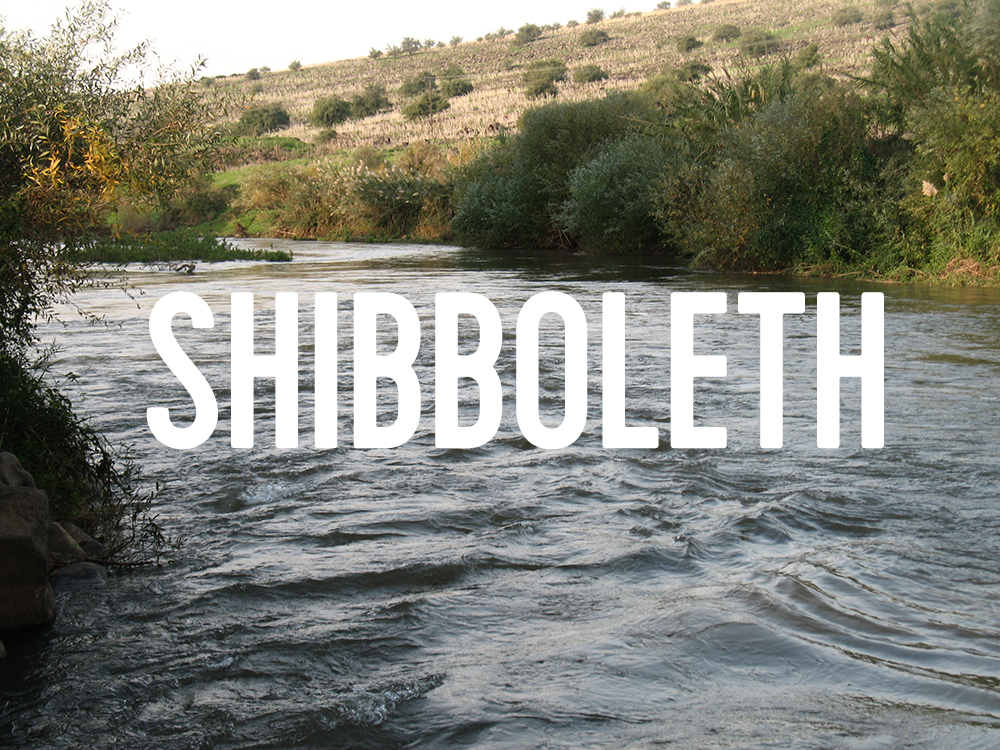 Something about shibboleth