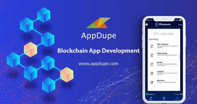 blockchain app development