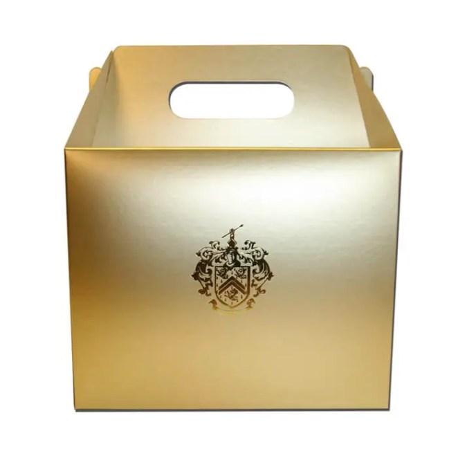 custom metalized box