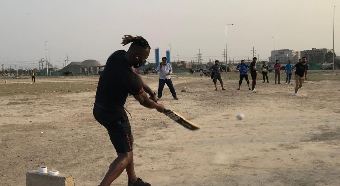 Social media collapses as St Lucian Cricketer plays street cricket in Pakistan