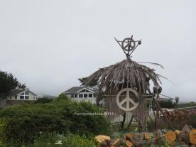 Peace Hut, Moss Beach