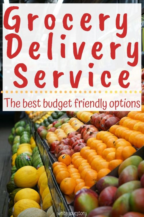 grocery delivery service budget friendly
