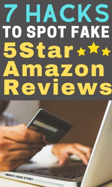 fake 5 star amazon reviews