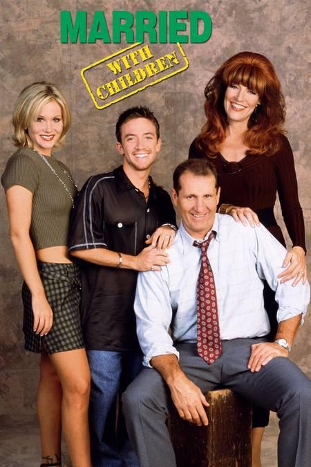 Applegate), Bud Bundy (David Faustino), Al Bundy (Ed O'Neill) and Peggy Bundy (Katey Sagal).