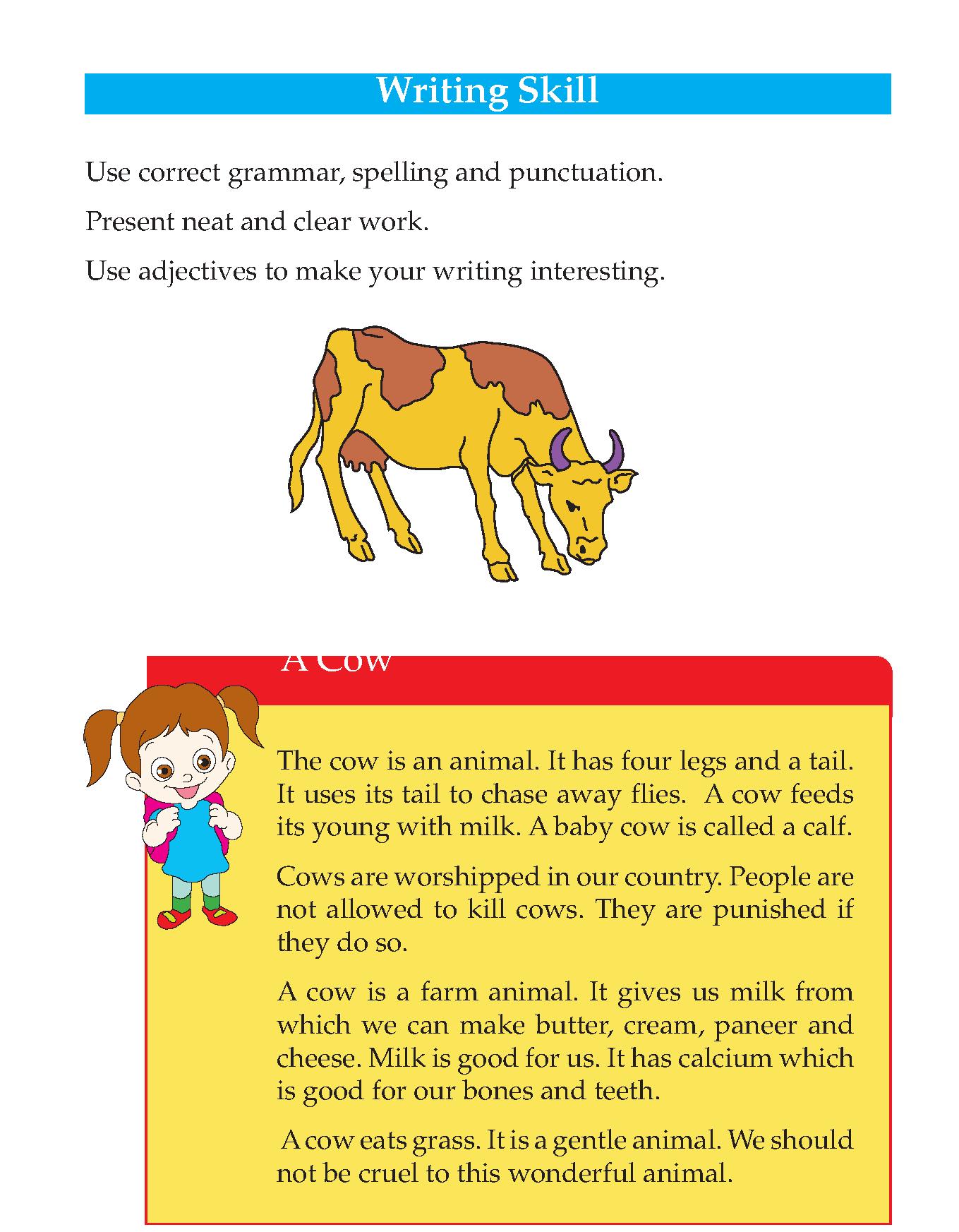 Grade 3 Descriptive Essay Farm Animals