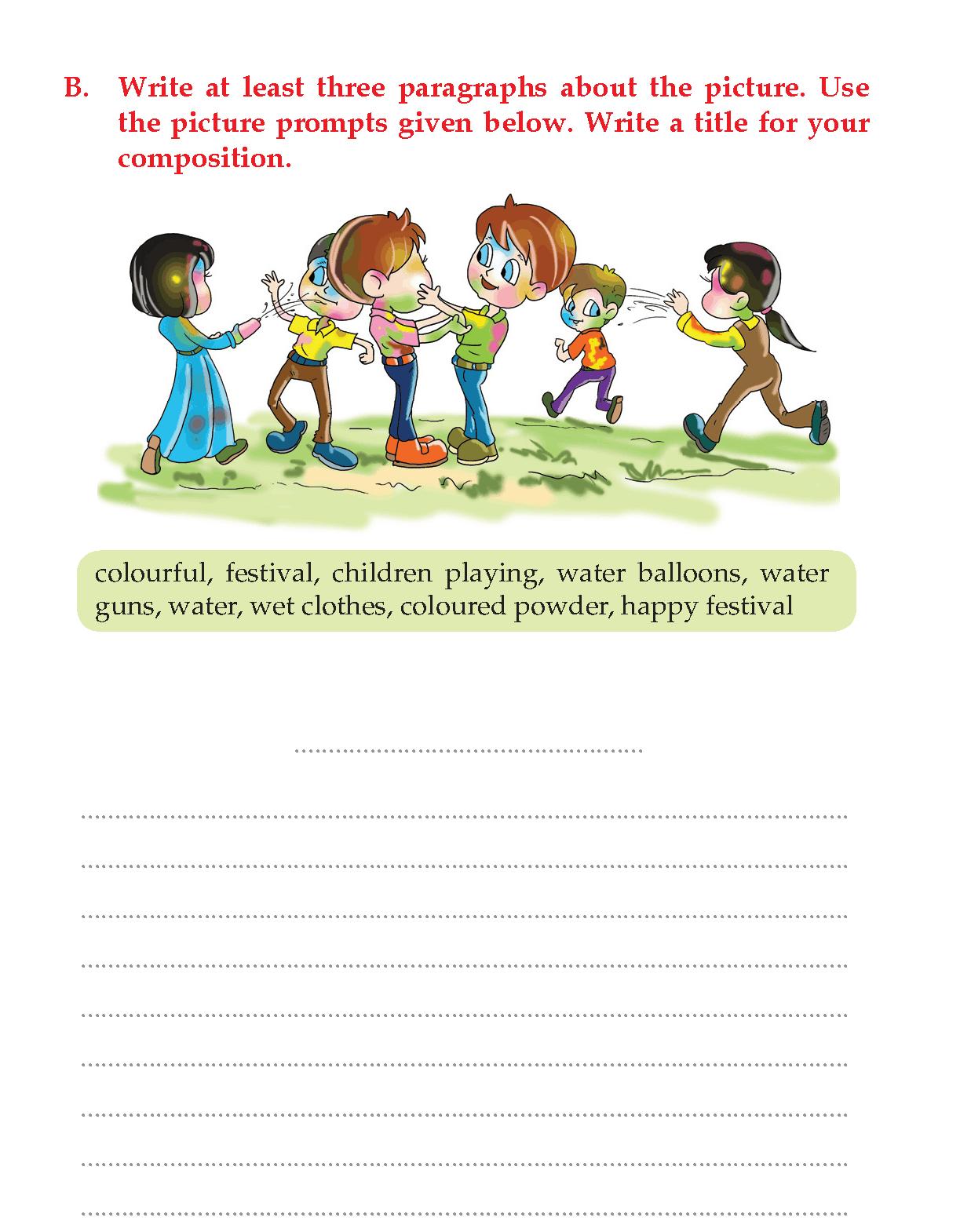 Grade 3 Picture Composition