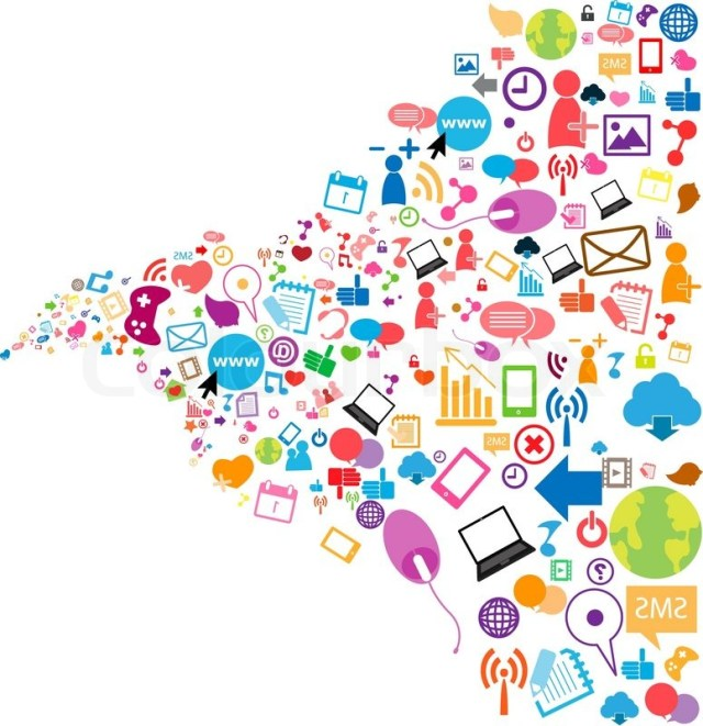 7142541-social-network-background-with-media-icons