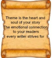 theme is the heart and soul of the book
