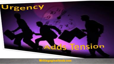 urgency in pacing