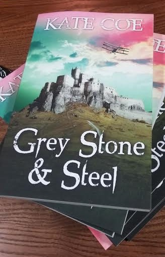 grey stone and steel paperback