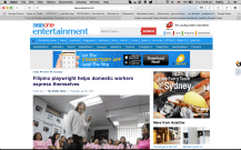 Feature on The Straits Times (AsiaOne)