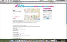 Listing on ARTITUTE
