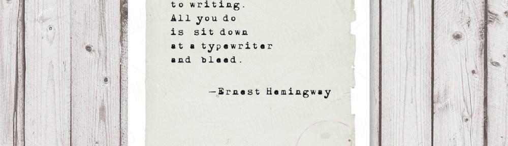 Ernest Hemingway, Writing & Style