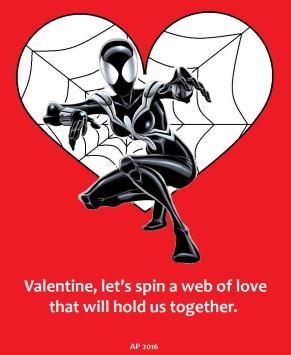 Valentines2016_SpiderGirl-symbiote-posterart_heart-ap-1J
