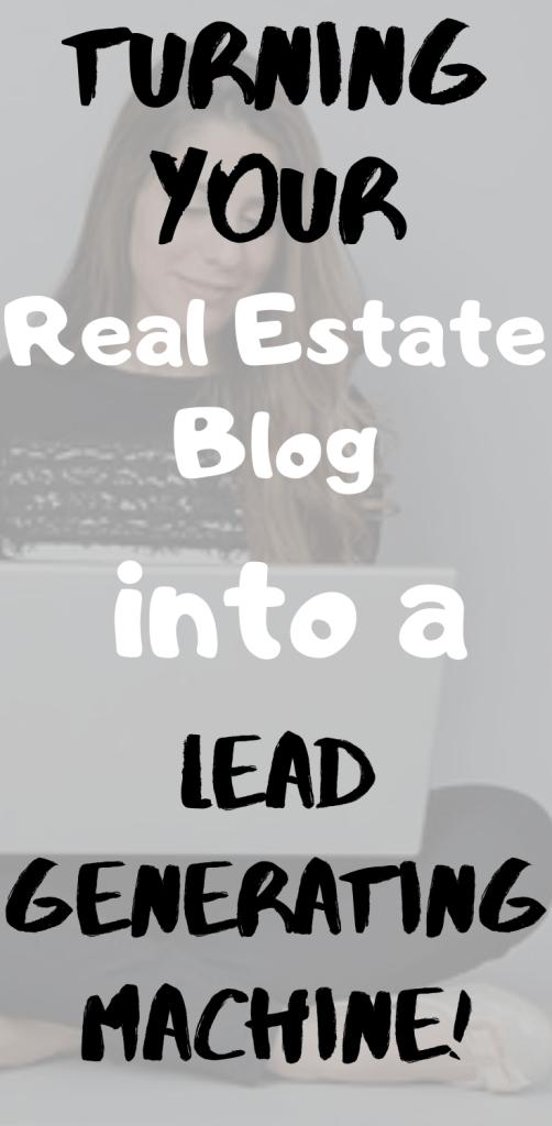 Real Estate Blog Writer