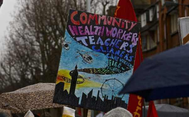 March for Homes, 31 January 2015