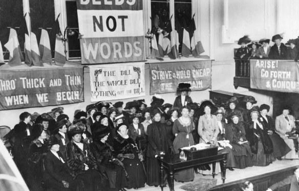 Emmeline Pankhurst & Property Destruction