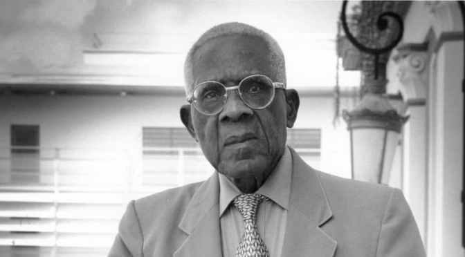 The incandescence of Aimé Césaire