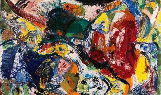 An interlude on Asger Jorn