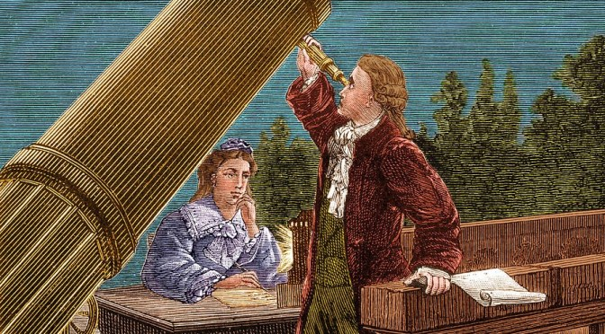 The Astronomer Caroline Herschel
