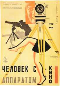 Dziga Vertov - The Man with A Movie Camera 1929