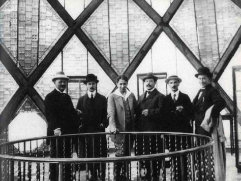 Paul Scheerbart in the Glass Pavilion 1914