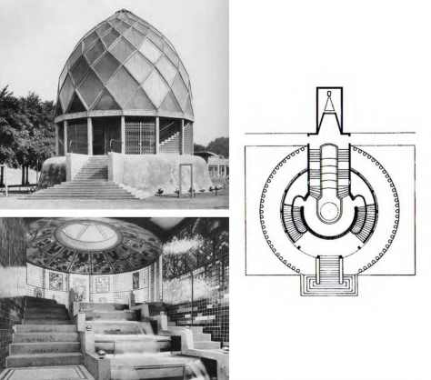 Bruno Taut glass house