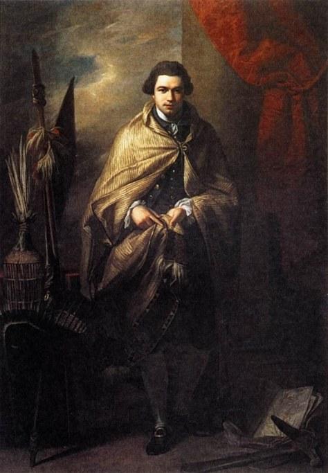 Portrait of Banks (1773) by Benjamin West