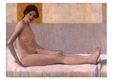 Seated Nude (marietta) 1907