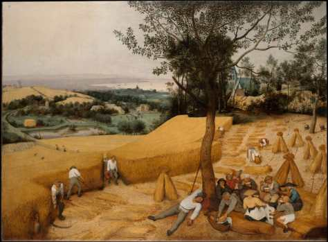 Pieter Bruegel the Elder - The Harvesters, 1565