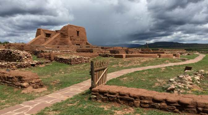 From Cicúye to Pecos Ruins — Coronado's expedition and Spanish settlement