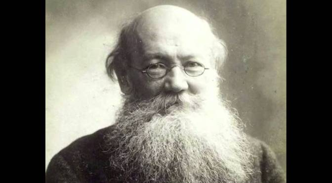 Kropotkin: or things we  knew already in 1880