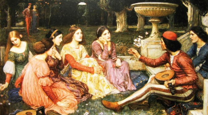Boccaccio's Tales during plague time