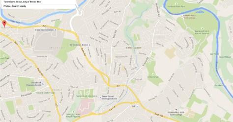 Brislington Map