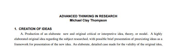 homeschool research paper