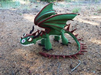 terrible_terror_crochet_dragon_2___green_and_brown_by_silvergirl919