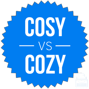 cosy or cozy what s the difference