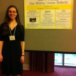 Amy Petersilie at CCCC 2012 Undergraduate Researcher Poster Session