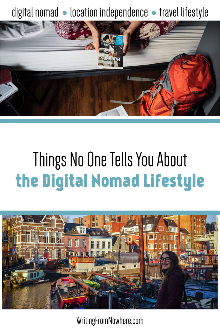 digital nomad lifestyle things no one tells you _Writing From Nowhere