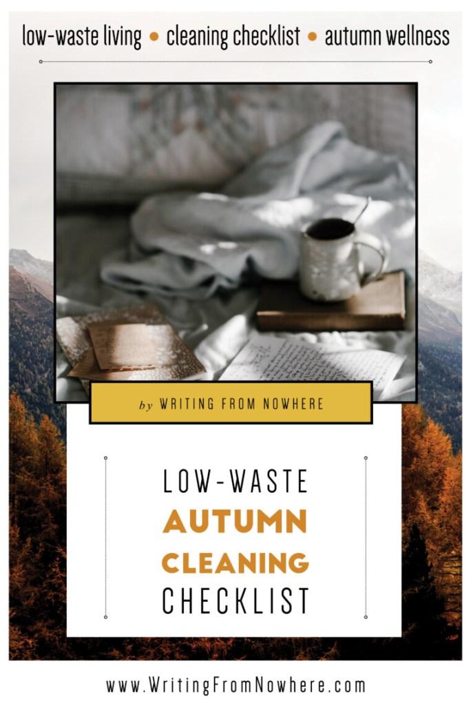 low-waste autumn cleaning checklist