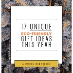 unique eco-friendly gift ideas _Writing From Nowhere