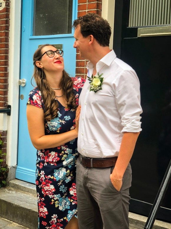 wedding picture of me and my husband