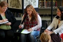 TD reading at Burlington Book Festival, 9-14
