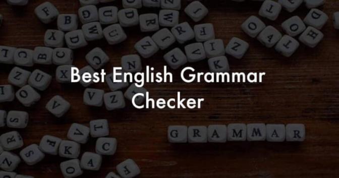 best English Grammar Checker