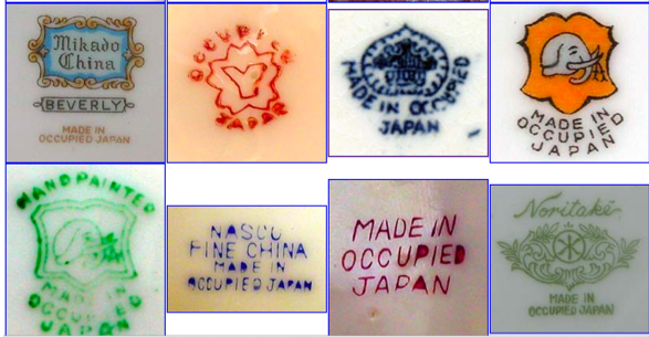 Pottery Marks Identification Guide