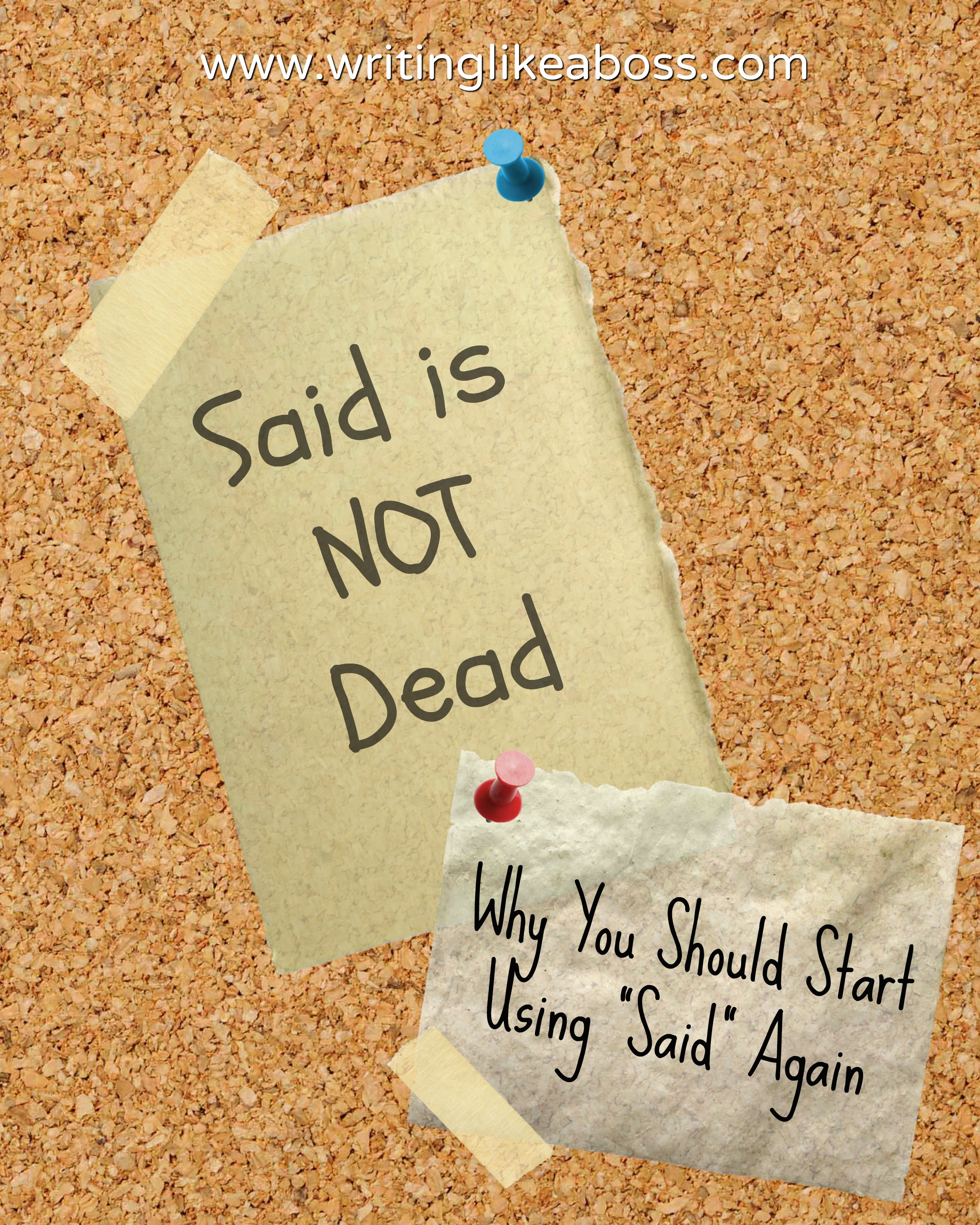 Said Is Not Dead Why You Should Start Using Said Again