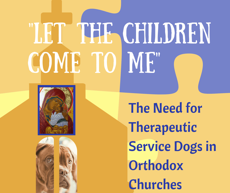 Therapeutic Service Dogs in Church: Let The Children Come