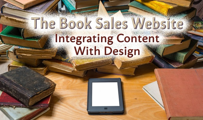 The Book Sales Website – Integrating Content with Design